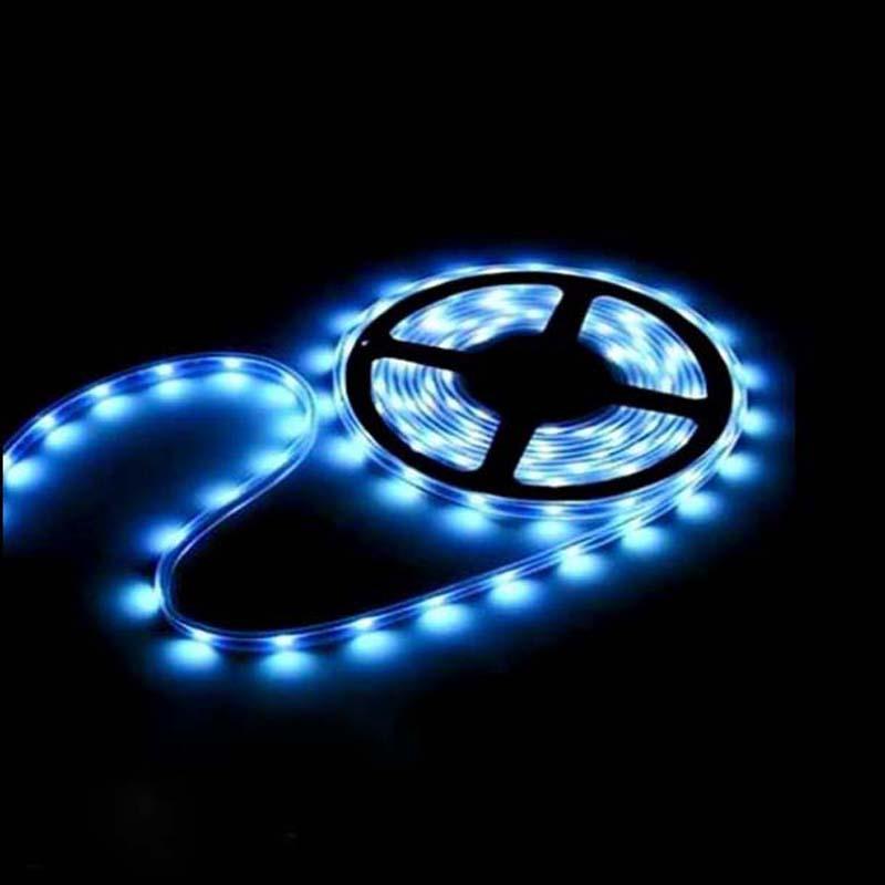 LED-nauhavalot RGB-värikkäitä nauhavaloja joulua / loma-koristeita varten