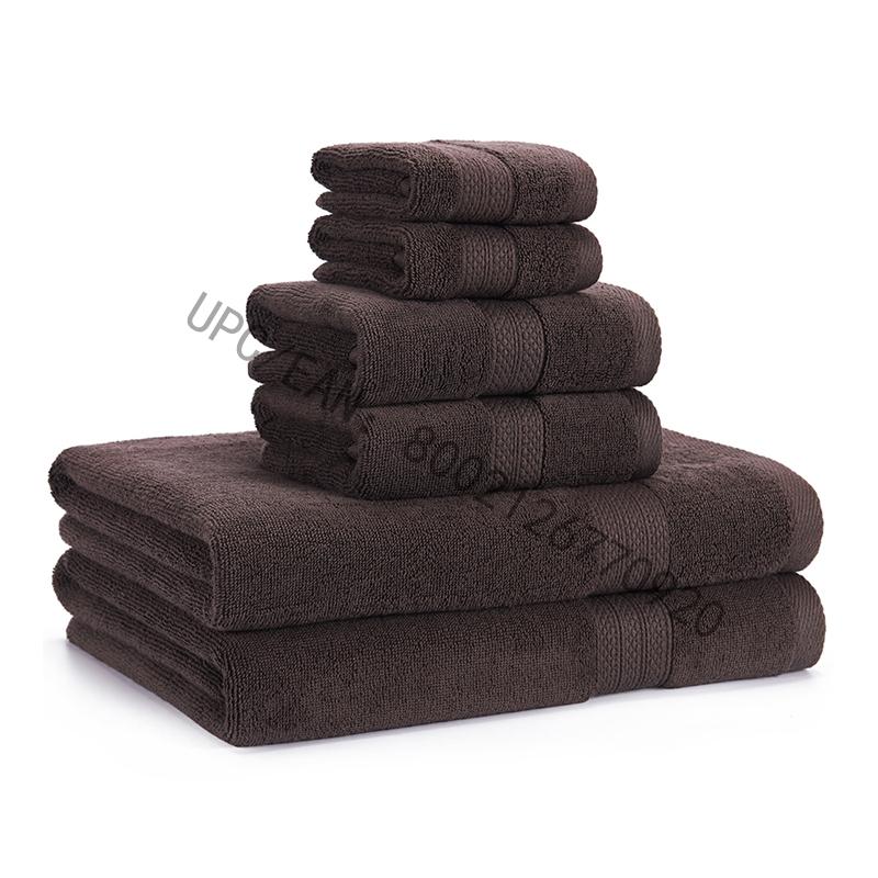 JMD TEXTILE Kylpypyyhesarja, kammatut puuvillapyyhkeet Harmaa 6 pyyhepaketti Keittiöallaskotitalous, pyyhkeet kestävät, imukykyiset Mukava erityisen suuri pyyhe (2 pesulappua, 2 käsipyyhettä, 2 kylpypyyhkettä)