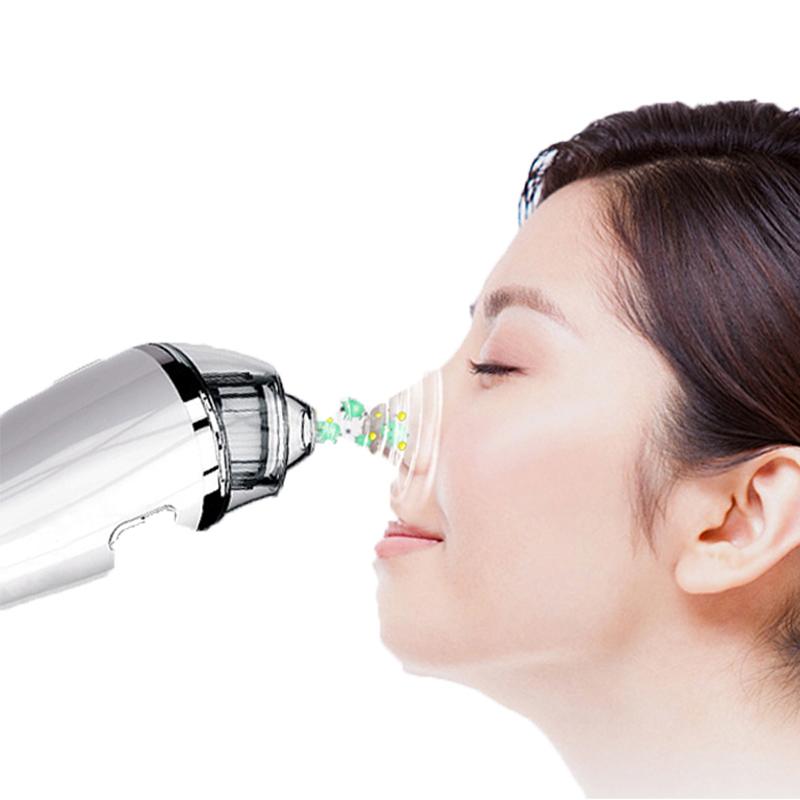 Blackhead Remover Vacuum - huokosten puhdistusaine sähköinen pään imu kasvohoito Comedo aknenpoistotyökalu naisille ja miehille