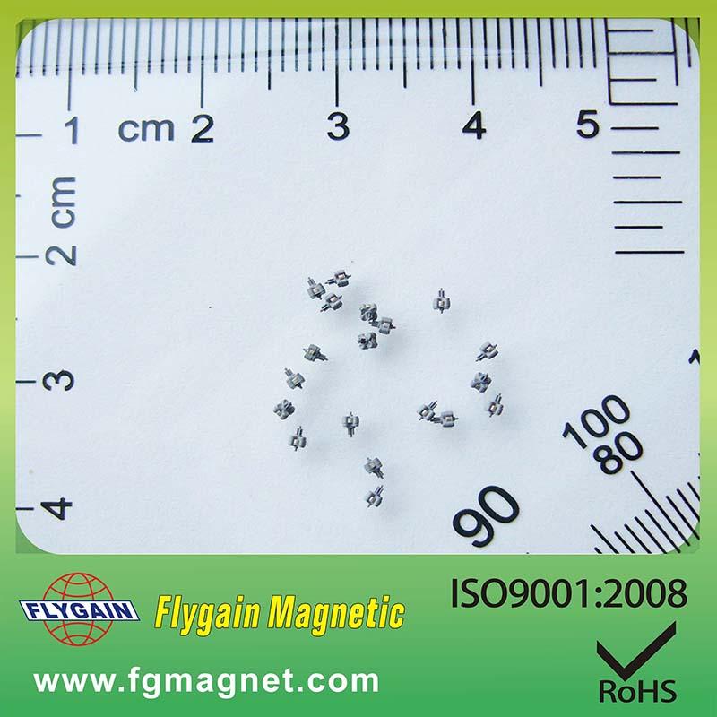 Mikromagneetti kellomoottorille