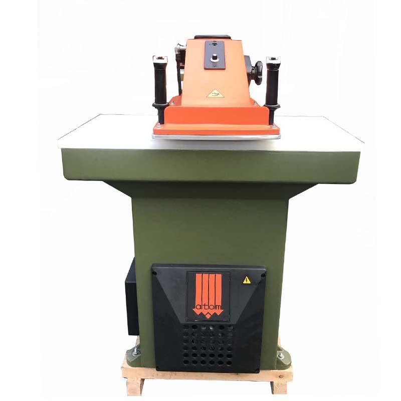 käytetty uusittu ATOM-leikkurikone nahkakenkien ja laukkujen valmistukseen