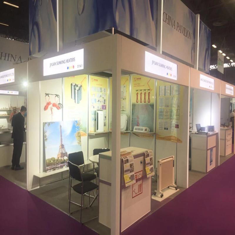 """[""""SUNKING sähkölämmitysyhtiö osallistui vuoden 2019 INTERCLIMA Pariisin näyttelyyn (Pariisin Nord Villepinte -messukeskus)""""]"""